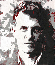 Wittgenstein in a portrait by fabrizio Ruggiero
